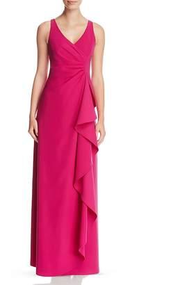 Armani Collezioni Ruffled Gown