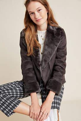 Seen Worn Kept Evita Faux Fur Aviator Jacket