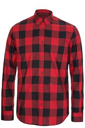 DSQUARED2 Dsquared Red Checkered Shirt