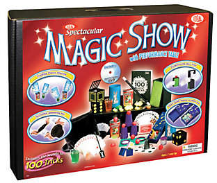 Ideal Toys Ideal 100-Trick Spectacular Magic Show Suitcase