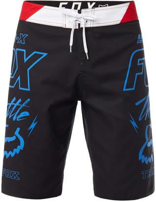 "Fox Men's Throttled Logo-Print 21"" Board Shorts"
