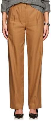 The Row Women's Thea Piqué Linen-Cotton Cargo Trousers