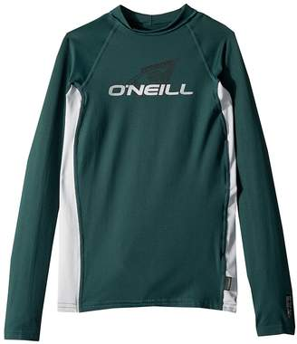 O'Neill Kids Skins Long Sleeve Crew Kid's Swimwear