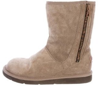 UGG Australia Suede Ankle Boots $95 thestylecure.com