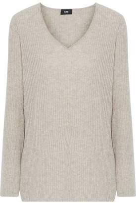 Line Ines Ribbed Mélange Cashmere Sweater