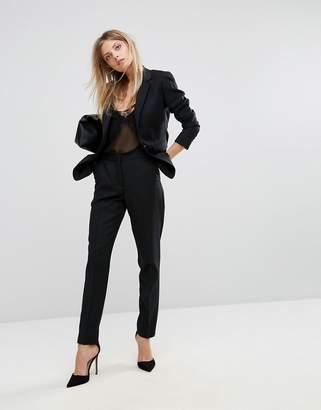 Reiss Tailored Textured Slim Leg Pant