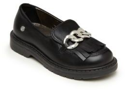 Girl's Front-Detail Loafers $88 thestylecure.com