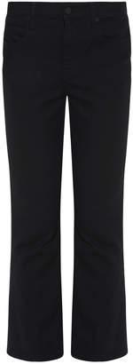 Alexander Wang Trap Flex Cropped Boot Jeans