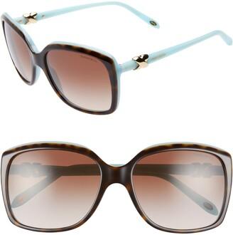 Tiffany & Co. 58mm Rectangular Sunglasses