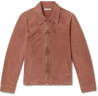 Our Legacy Cotton-Moleskin Jacket