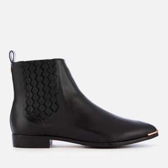 Ted Baker Women's Liveca Leather Chelsea Boots - Black