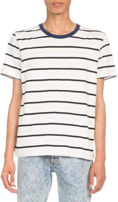 Maison Margiela Striped Crewneck T-Shirt