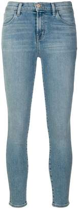 J Brand alana high rise cropped jeans