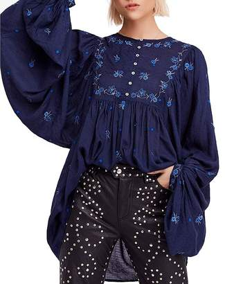 Free People Kiss From a Rose Tunic Top