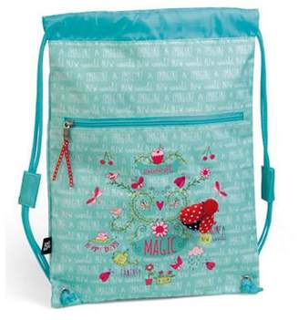 Ladybird Busquets Childrens Pe Bag- Blue Ladybird, Childrens Swimming Bags, Childrens Pe Bags, Childrens Sports Bags