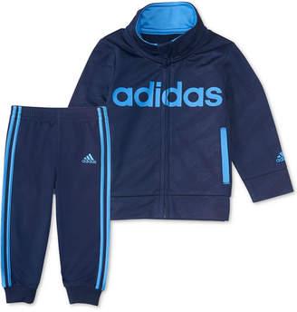 adidas Baby Boys 2-Pc. Full-Zip Jacket & Joggers Set