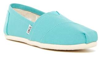 TOMS Classic Canvas Slip-On Sneaker $48 thestylecure.com