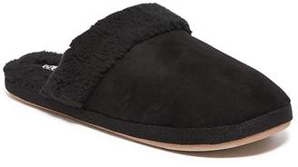 Old Navy Faux-Suede Sherpa-Lined Slide Slippers for Women