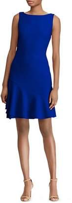 Ralph Lauren Flounced Jersey Dress