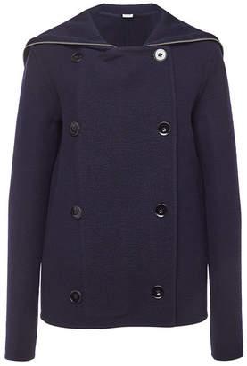 Jil Sander Virgin Wool Jacket with Cashmere