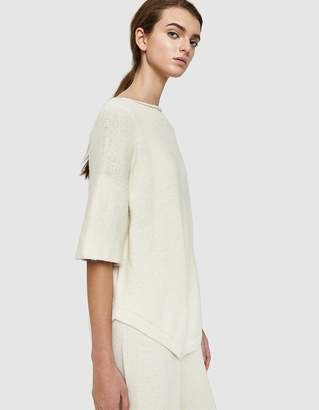 LAUREN MANOOGIAN Dovetail Pullover in White