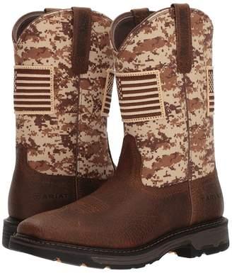 Ariat Workhog Patriot Cowboy Boots