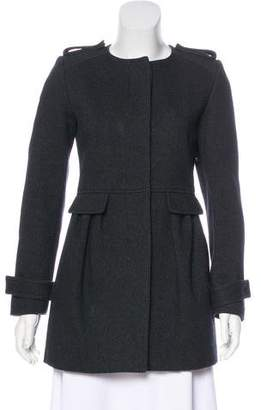 Isabel Marant Short Wool-Blend Coat