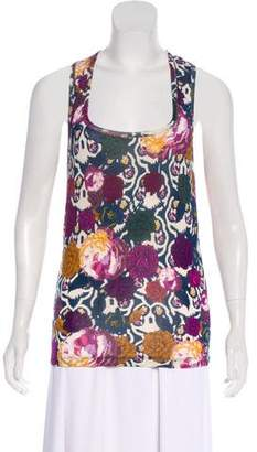 Just Cavalli Sleeveless Floral Top w/ Tags