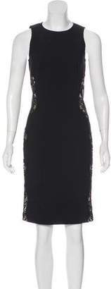 Stella McCartney Lace-Paneled Knee-Length Dress w/ Tags