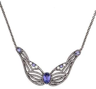 Colette Jewelry Tanzanite Wing Necklace