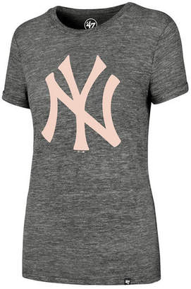 '47 Women's New York Yankees Hero Pink Logo T-Shirt