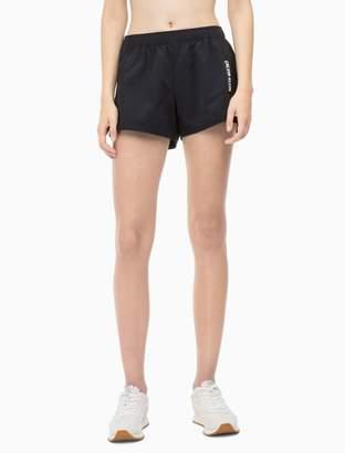 Calvin Klein logo colorblock sports shorts