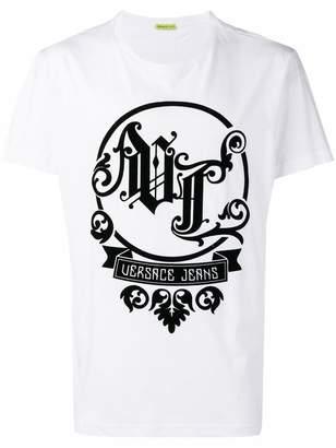 Versace oversized logo T-shirt