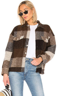 Anine Bing Bobbi Flannel Jacket