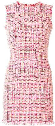 Alexander McQueen tweed mini dress