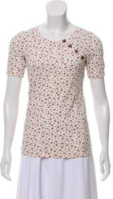 Marc by Marc Jacobs Printed Floral Top
