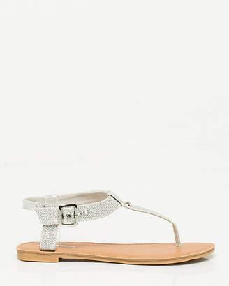 Le Château Glitter T-Strap Sandal