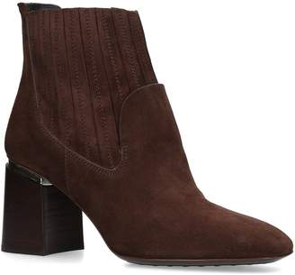 Tod's Suede Block Boots