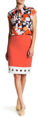 Nine West Colorblock Skirt $79 thestylecure.com