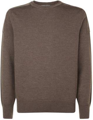 Canali Shoulder Patch Sweater