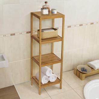 """Gallerie Decor Spa 14.5"""" W x 40"""" H Bathroom Shelf"""
