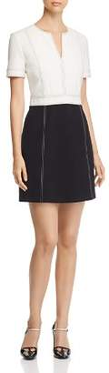 Tory Burch Two-Tone Ponte Dress