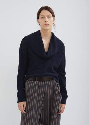 Nocturne #22 Cowl Neck Knit Sweater