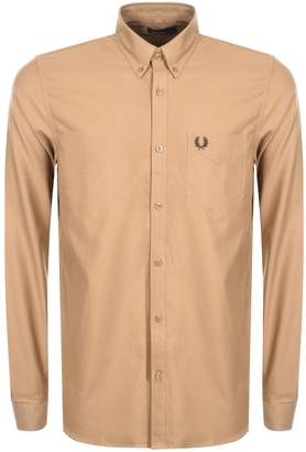 Fred Perry Classic Oxford Shirt Brown