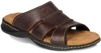Dr. Scholl's Dr. Scholls Gordon Men's Leather Slide Sandals