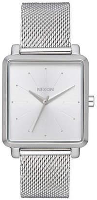 Nixon K Squared Stainless Steel Analog Watch