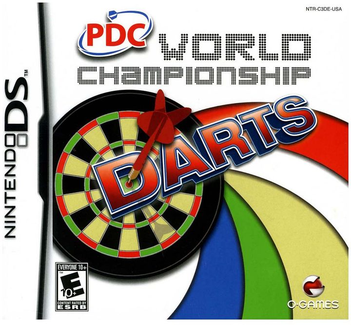 Nintendo ds TM pdc world championship darts