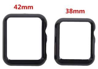 Unbrand Black Screen Protector Watch Case For iPhone Watch Series 2/1 38mm 42mm