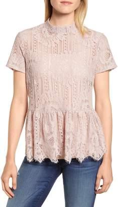 Everleigh Short Sleeve Lace Top