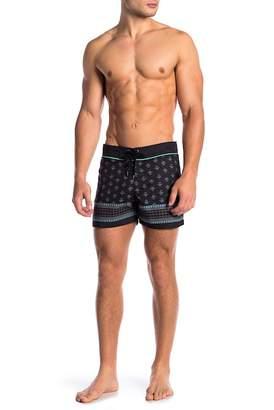 Parke & Ronen Classic Patterned Swim Shorts